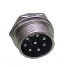 Вилка кабельна d-32/8pin 2.5mm