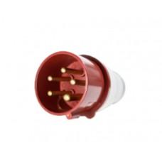 Вилка кабельна 380В 5х16А