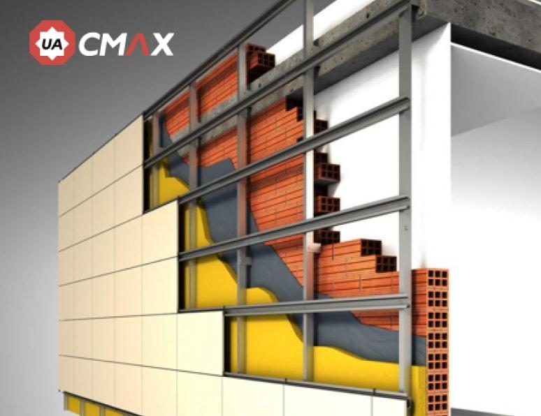 Как устроена система вентилируемого фасада?
