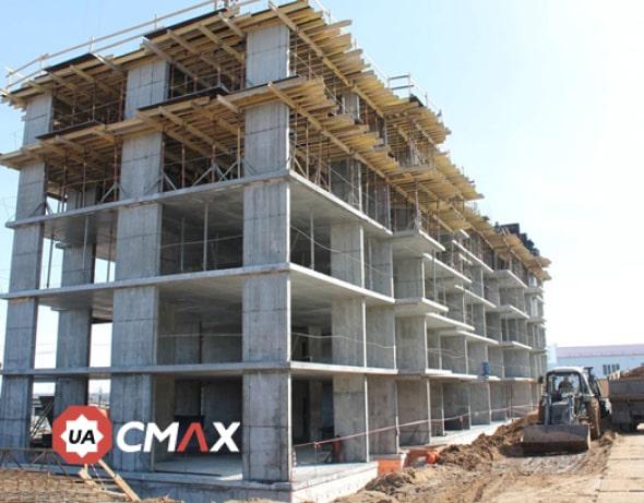 Процесс строительства монолитных зданий