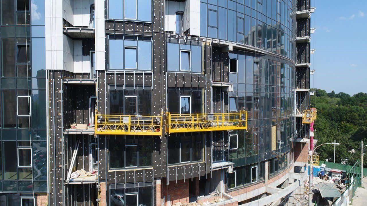 фасадные строительные люльки ZLP